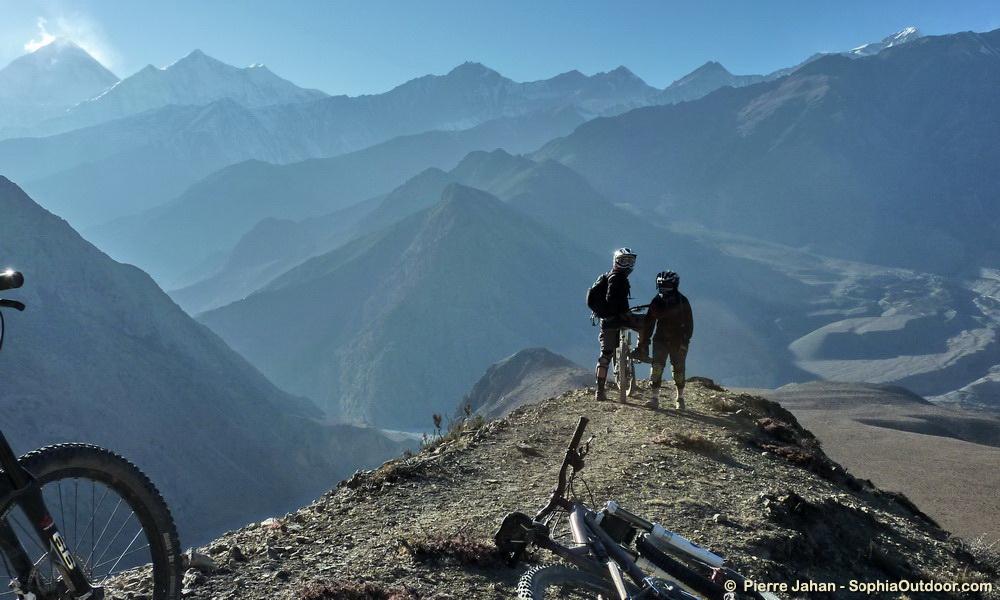 A 4000m au-dessus de Marpha, Népal