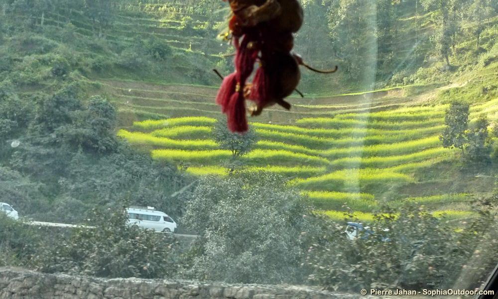 Utoroute vers Pokhara