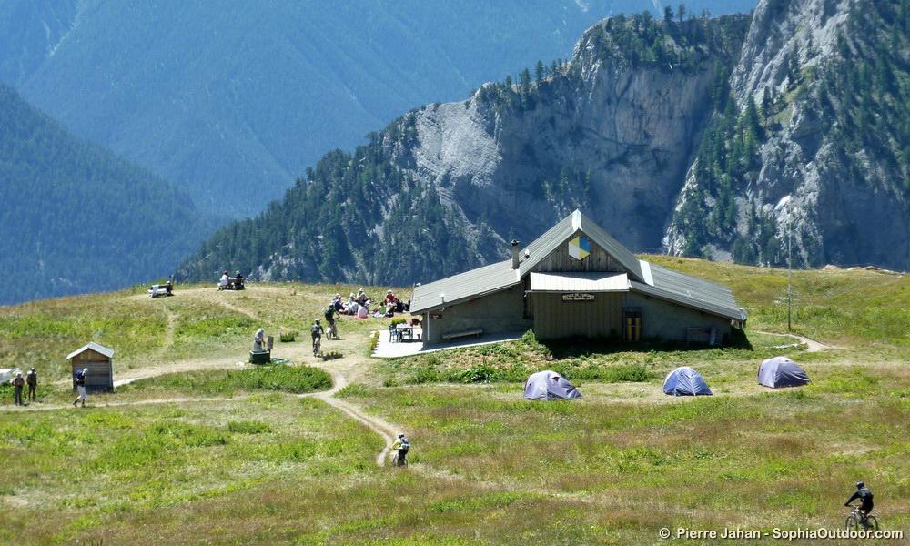 Le refuge de Furfande, 2300m