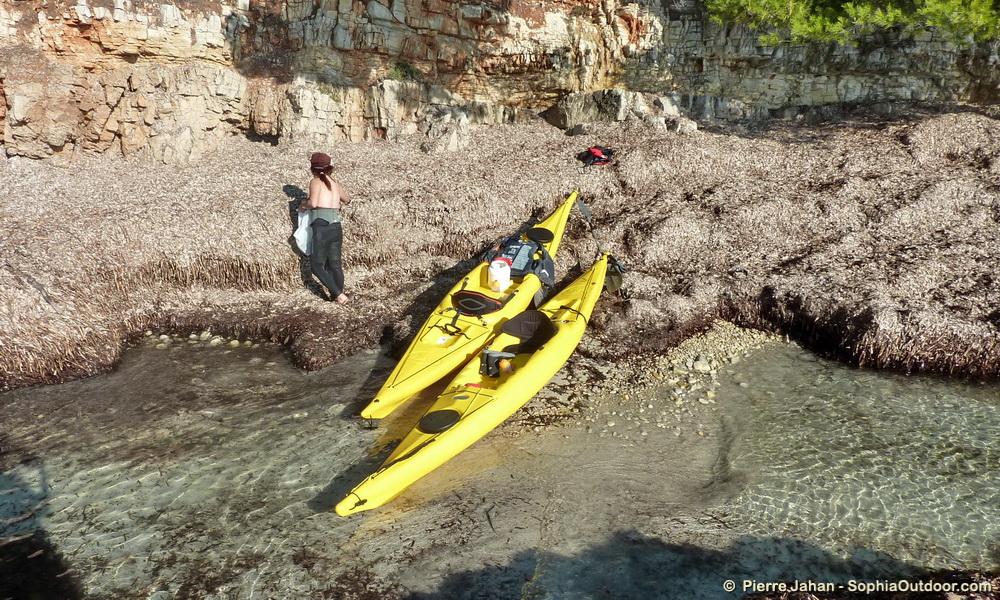 kayak de mer à Ste Marguerite