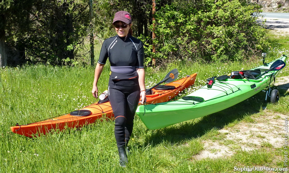 Susie avant la mise à l'eau de nos 2 nouveaux bateaux