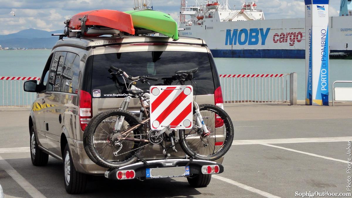 Piombino, ferries pour l'île d'Elbe