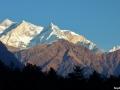 La chaine des Himalayas