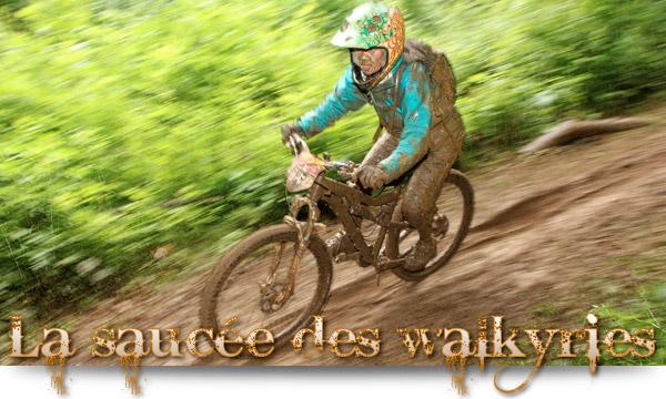 Megavalanche Alpe d'Huez 2014, la saucée des walkyries