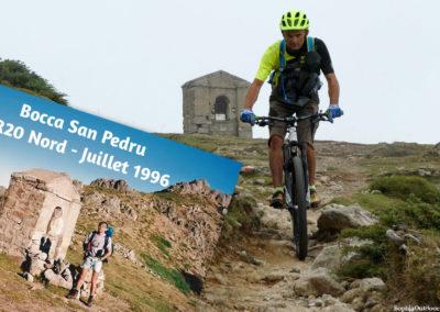 22 ans séparent ces 2 photos :-D Bocca San Pedru (Col St Pierre). P1030635-mod