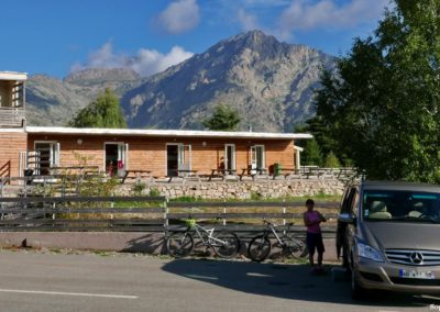 """L'ancienne station de ski abandonnée de Castel di Vergio, devant le gite des """"GRistes"""" du GR20. P1320403"""