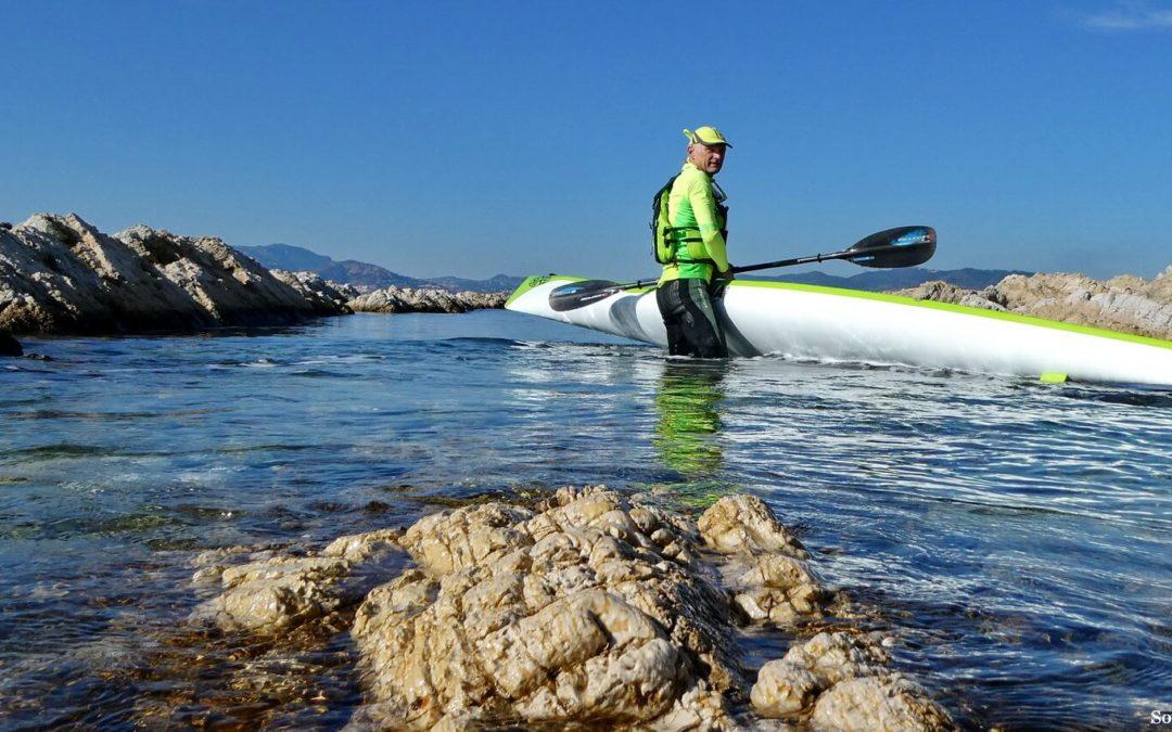 Kayak de mer, une année 2018