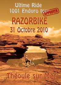 Affiche Razorbike 2010