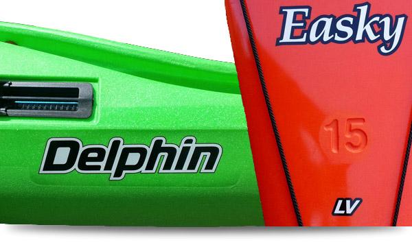 Delphin 155 et Easky 15 LV
