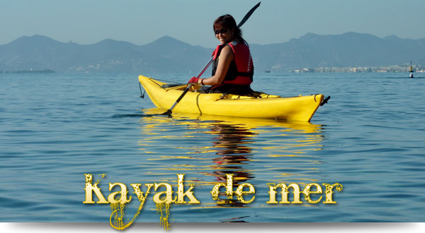 Changement d'air en kayak de mer