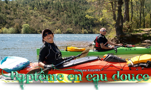 Baptème kayaks à St Cassien