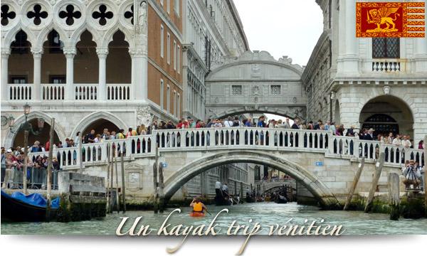 Un kayak trip vénitien